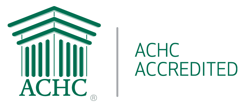 ACHC accredited pharmacy logo